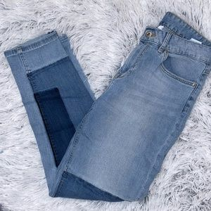 Patched Mom Jeans